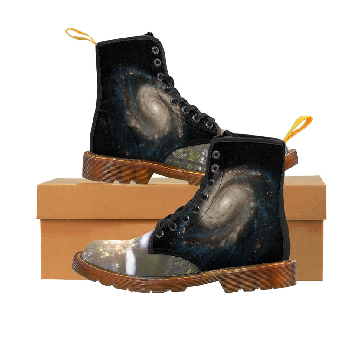 Hombres Hombres Hombres Martin  botas   Whirpool Galaxy M51 Composite NasaJpl  And Sunset In Cloud Forest El Yunque Pr 47a2f8