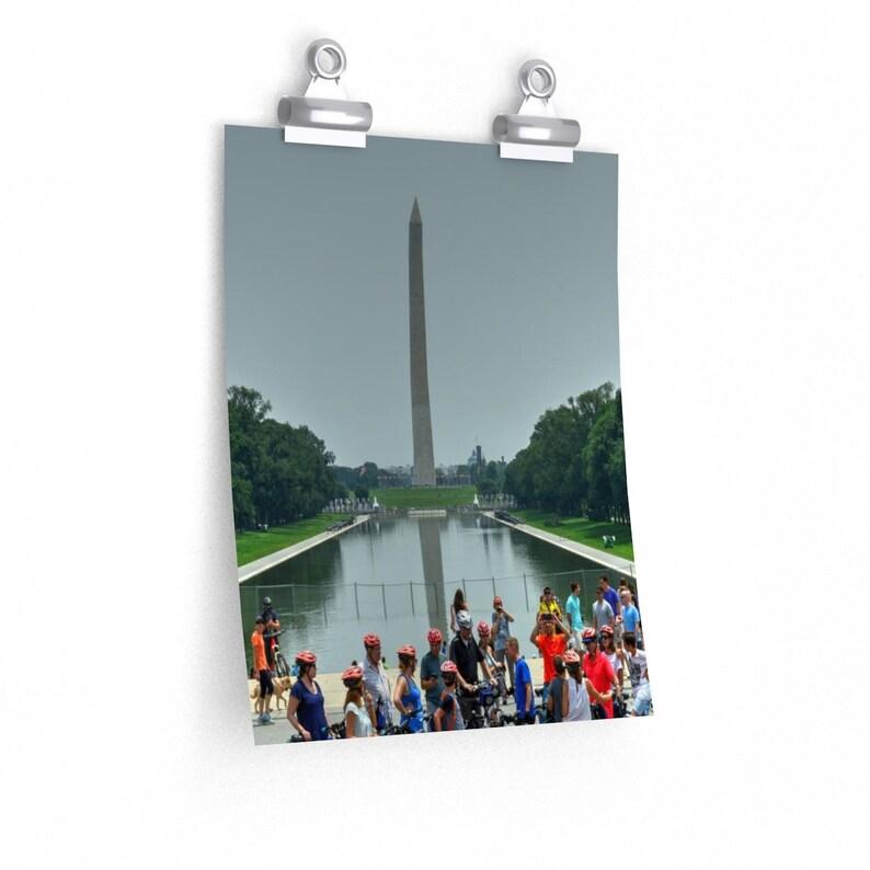Premium Matte vertical posters The Washington Monument WA DC