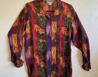 1980s Pat Argenti Sportswear Shirt