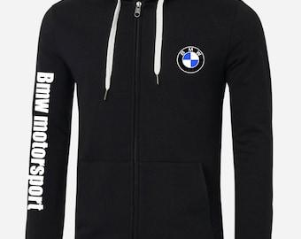 survetement jogging veste sweat a capuche compatible avec pilote bmw motorsport