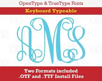 True type font | Etsy