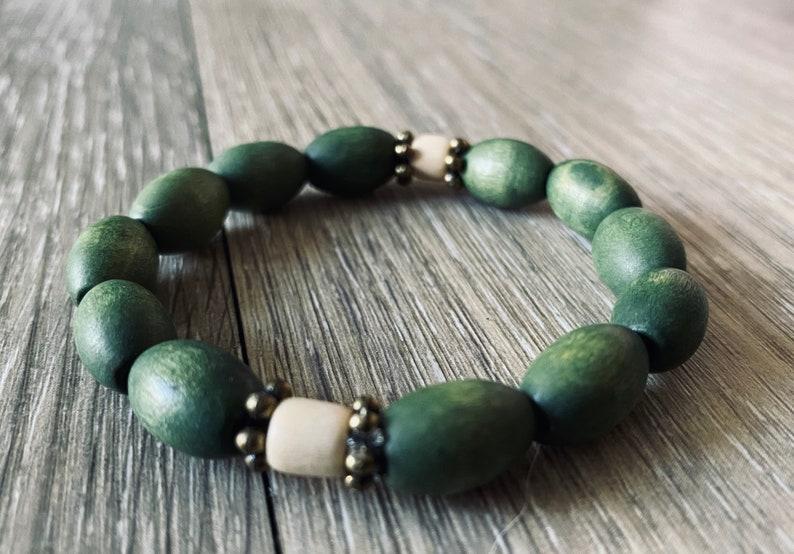 stackable bracelet set ancient forrest