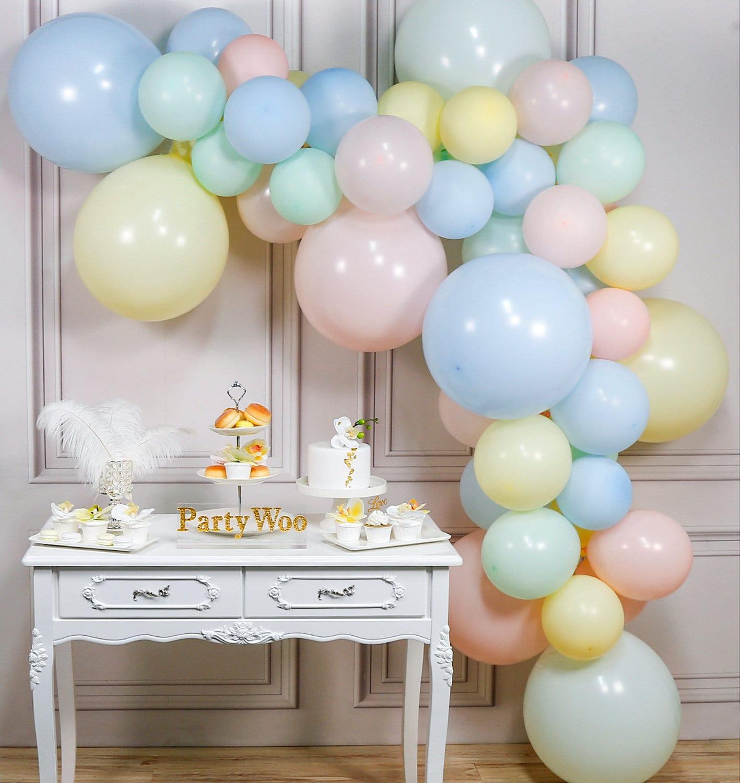 10Pcs Party Balloons Boy/&Girl Latex Baby Shower Balloons Birthday party Decor