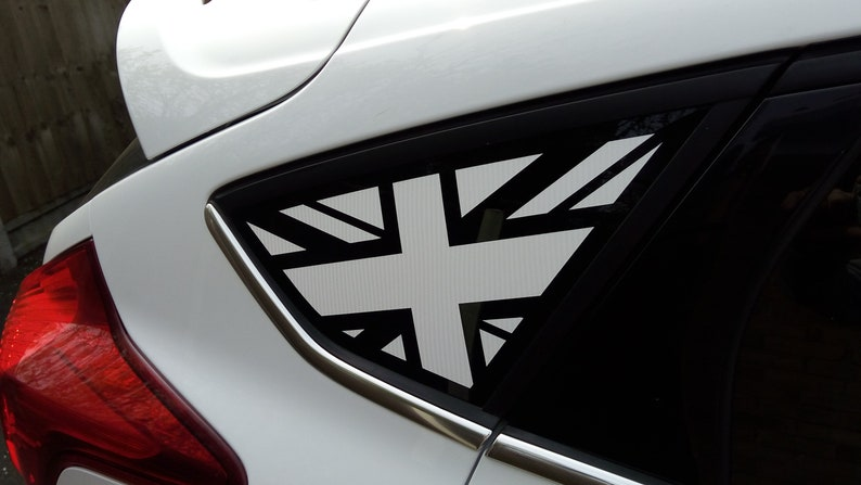 Ford Focus Union Jack Stars And Stripes Flag Window Sticker Fits The Mk3