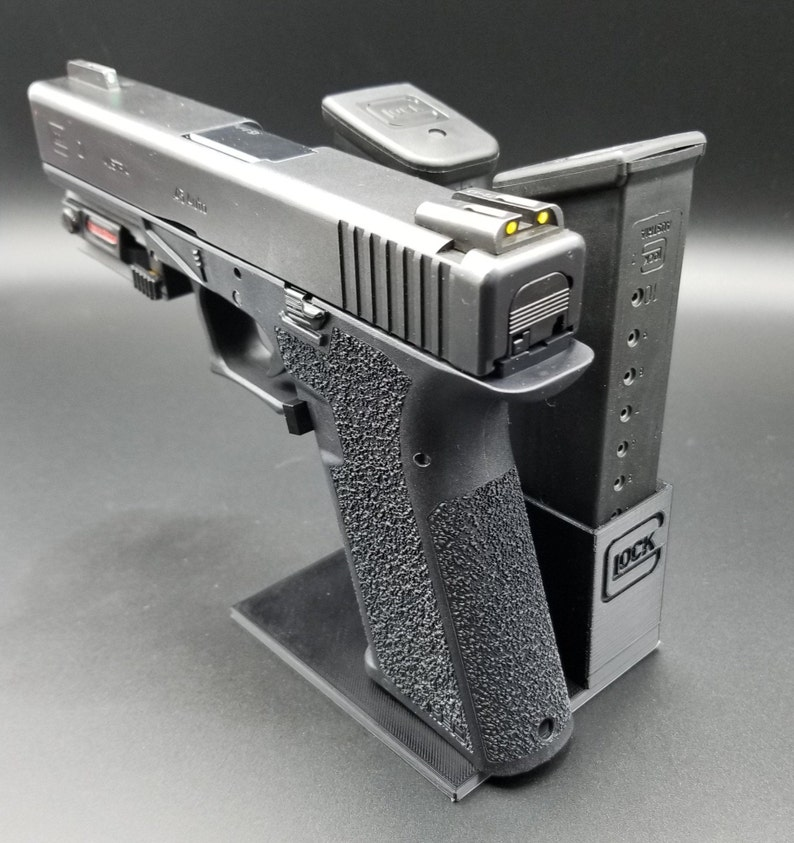 Pistol stand for Glock 20/21 or Polymer 80 PF45 Gen3