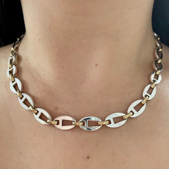 Givenchy Vintage 1990s Silver Necklace