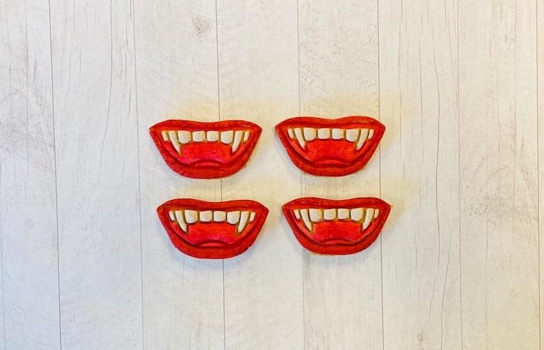 Vampire Teeth Dog Treats image 0