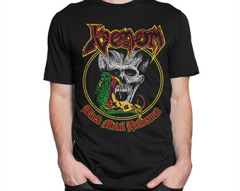 bef1fdd5 Venom Black Metal T-Shirt, Men's Women's All Sizes
