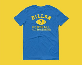 The Dillon Panthers Matt Saracen Training Tee in Royal Blue - Friday Night  Lights Inspired High School Sports Tee c0871a80a990