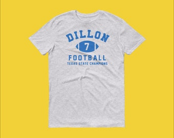 The Dillon Panthers Matt Saracen Training Tee - Friday Night Lights  Inspired High School Sports Tee 0f61b2628df0