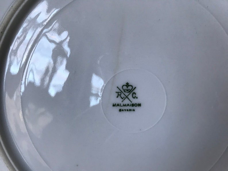 Rosenthal Malmaison 9\u201d Fuchsia Plate