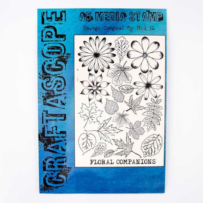 Floral Companions Stamp /& Die Collection