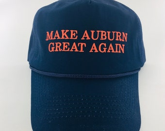 3c78adf846a Make Auburn Great Again Hat