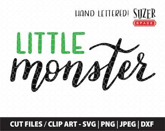 Little Monster svg, Little Monster Cut File, Little Monster Stencil, Little Monster Baby Design, Little Monster Dog T-shirt svg, Monster svg