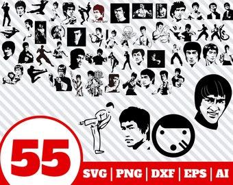 Bruce Lee Download Etsy