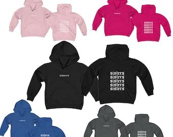 bc12e5545 KIDS Unisex Sisters hoodie