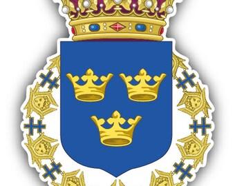 Stemma Della Svezia Etsy