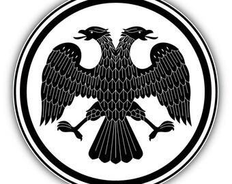 Austria Eagle Coat of arms Decal Sticker Austrian Car Vinyl pick size color