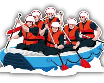 Rafting sticker | Etsy