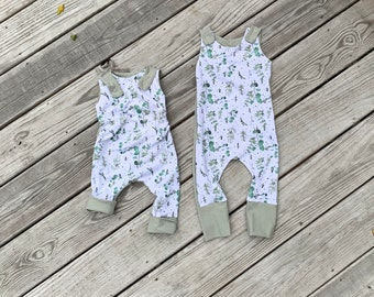 Grow With Me Romper 3 years-6 years 3 months-12 months 1 year-3 years