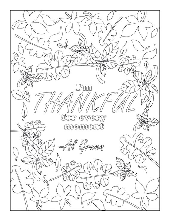 I am thankful for Coloring Page - Twisty Noodle | 738x570