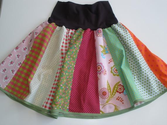 carnival costume size 128-134 Clown rockClown skirt