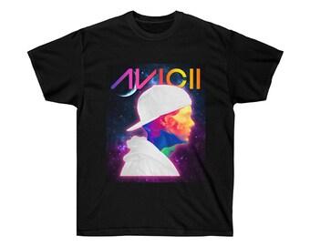 052c38deae33f Tribute to Avicii T Shirt - Avicii 3 DJ Music Festival Tee
