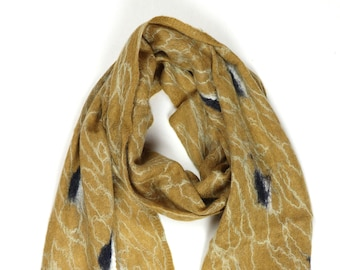 Kwina Scarf // Felted Mohair Wool Scarf