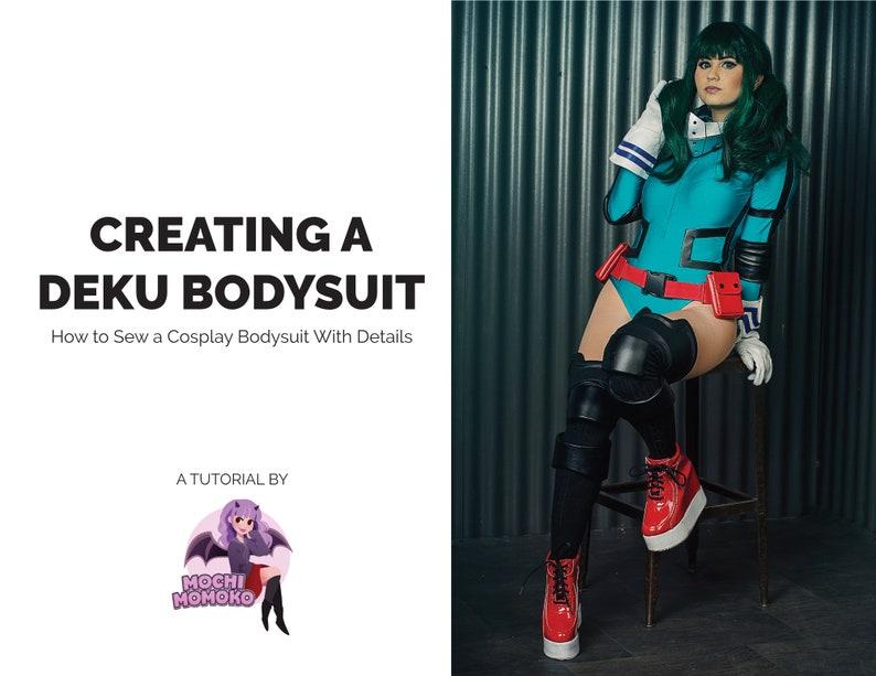 Creating a Deku Inspired Body Suit Cosplay Tutorial / | Etsy