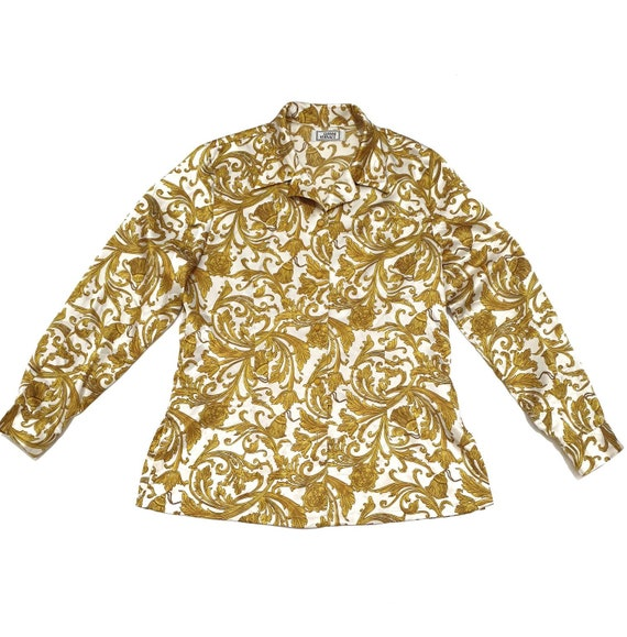 Vintage Gianni Versace Silk Shirts