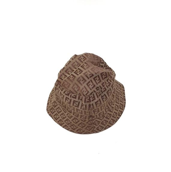 Vintage Fendi Zucca Bucket Hat