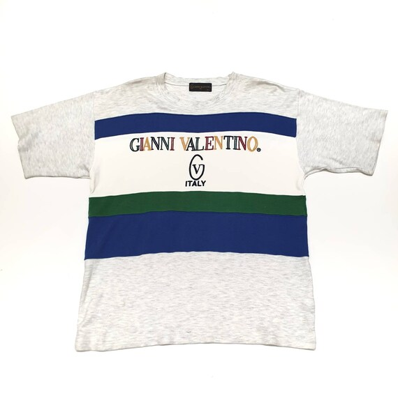 Vintage Gianni Valentino Spell Out Logo Tee Shirts