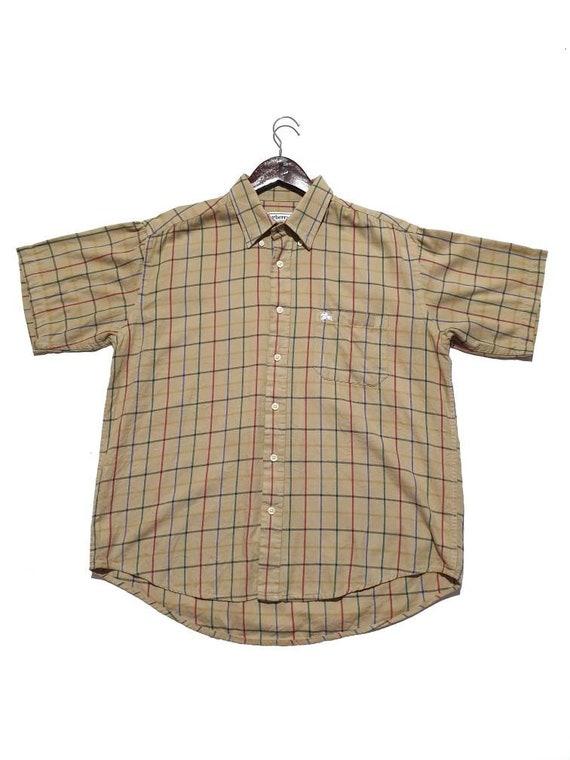 Vintage Burberrys Checkered Shirts