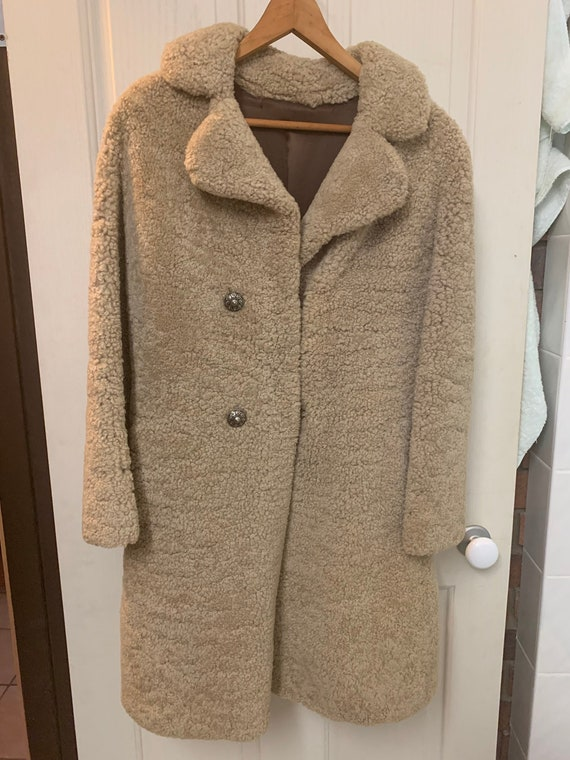 Ladies sheepskin wool jacket