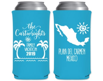Totally Slothed Can Coolers Funny Can Cooler Sloth Can Cooler Custom Bachelorette Party Favors Beach Can Coolers