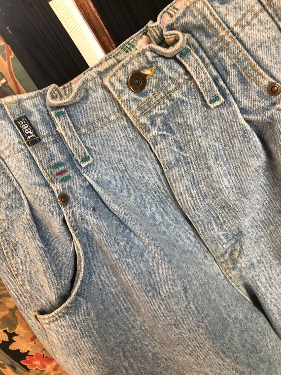 Vintage Pleated High Waisted Lee Jeans Size 11