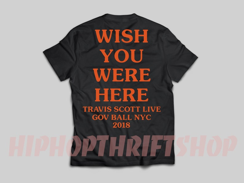 82b935014a31 New Astroworld T-Shirt Sicko Mode Wish You Were Here Shirt | Etsy