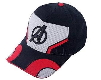 huge selection of b1fd5 6a3f0 Avengers 4 Endgame Quantum Realm Hat, Marvel Avengers Hat, Quantum Realm Cap,  Endgame Cap, Avengers Hat