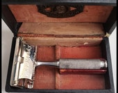 Antique Ever-Ready 24 14 Safety Razor and Original Box Made By American Safety Razor
