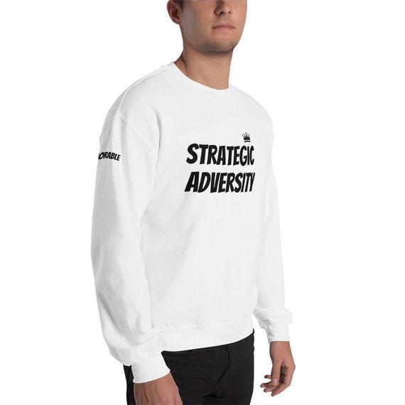 Adversité stratégique stratégique Adversité «Sweat-shirt de mode de vie» 9cded7
