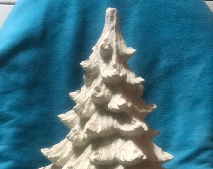 Ceramic Christmas Tree with holes for lights