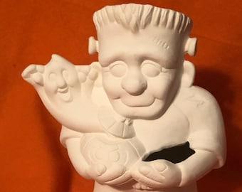 Frankie Jr Ceramic Bisque