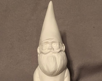 Sitting Knome Ceramic Bisque