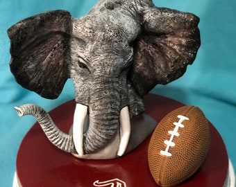 Roll Tide Ceramic Art
