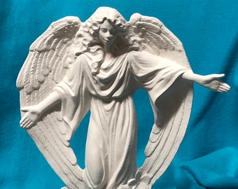 Summer Angel Ceramic Bisque ready to paint