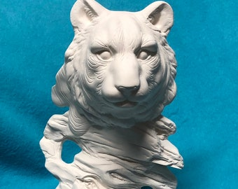 Tiger Ceramic  Bisque