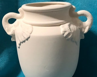 Elephant Vase ready to paint