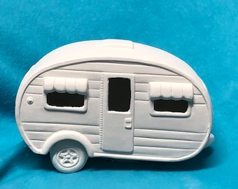 Camper Ceramic Bisque