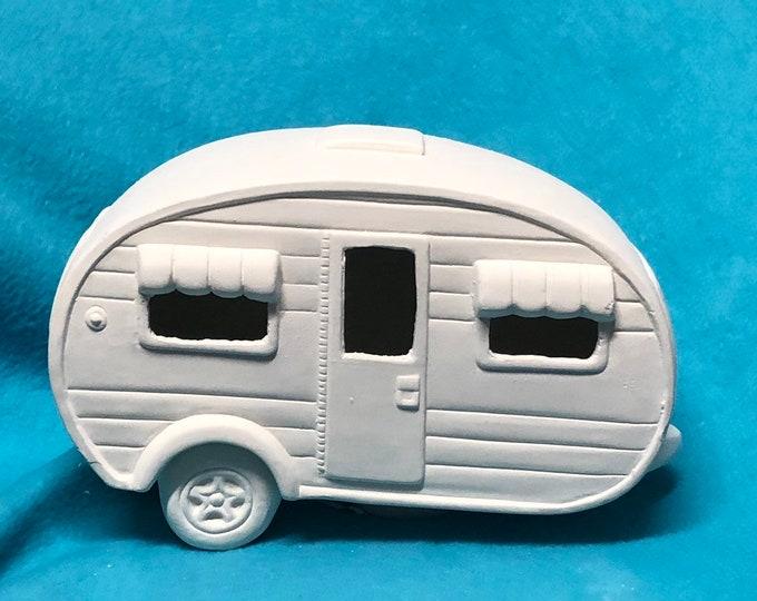 Featured listing image: Camper Ceramic Bisque