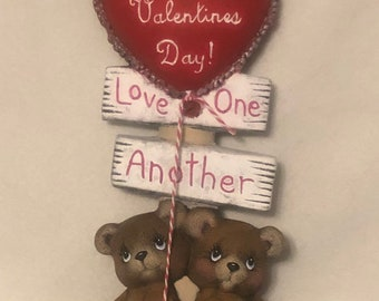 Bears Valentines Post